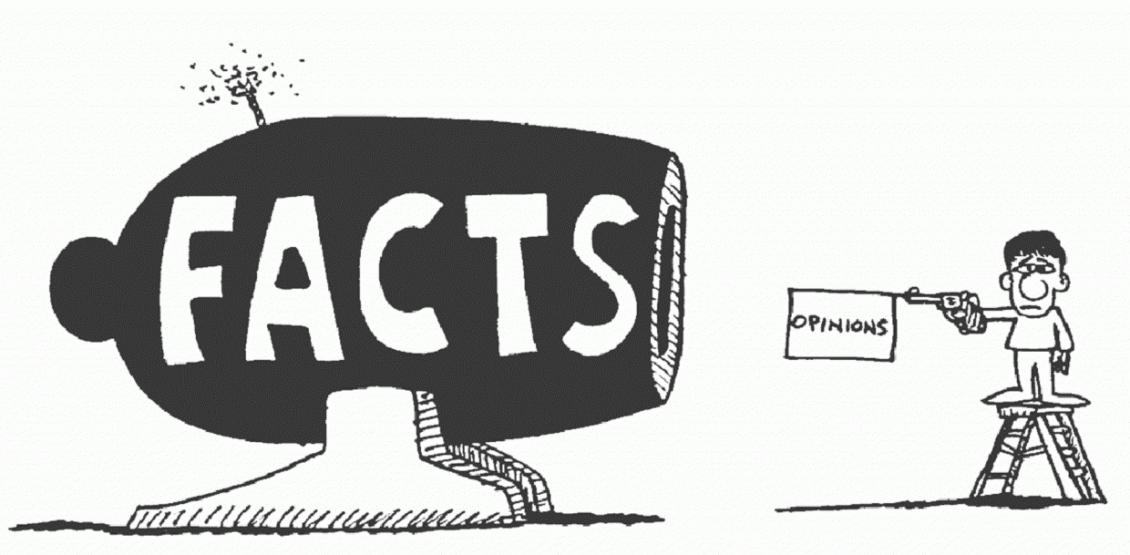 Fakty vs Opinie